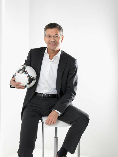 Herbert Hainer, Vorstandsvorsitzender der adidas Gruppe, © adidas group (Homepage) (12.02.2014)