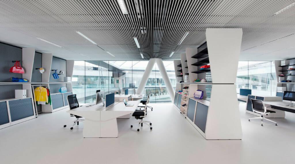 Büro im Gebäude Laces, adidas, © adidas group (Homepage) (12.02.2014)