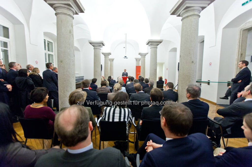 Säulenhalle der Wiener Börse (Bild: Foto Weinwurm) (12.02.2014)