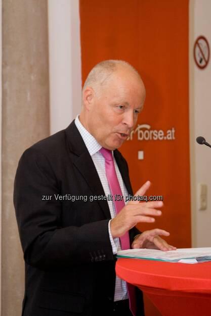 Franz Rudorfer (Geschäftsführer der Bundessparte Bank und Versicherung der WKO) (Bild: Florian Unterberger) (12.02.2014)