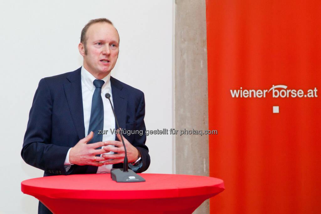 Heinz Bednar (Präsident der Vereinigung Österreichischer Investmentgesellschaften) (Bild: Foto Weinwurm) (12.02.2014)
