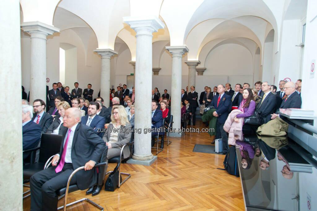 Publikum, Säulenhalle der Wiener Börse (Bild: Foto Weinwurm) (12.02.2014)
