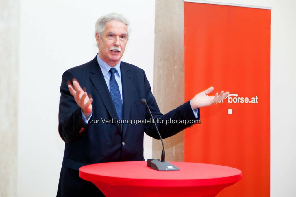 Otto Lucius (Geschäftsführer Bank Verlag) (Bild: Foto Weinwurm) (12.02.2014)