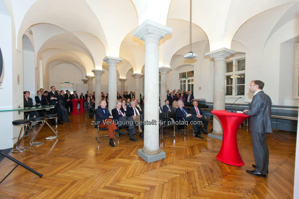 Heinz Macher (Leiter Recht, Steuern und Compliance, Raiffeisen Kapitalanlage GmbH) (Bild: Foto Weinwurm) (12.02.2014)
