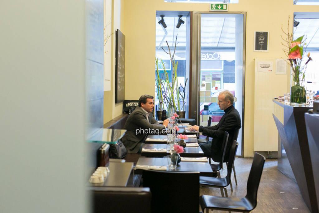 Christian Drastil, Rene Berger, &copy; finanzmarktfoto.at/Martina Draper in <a href=