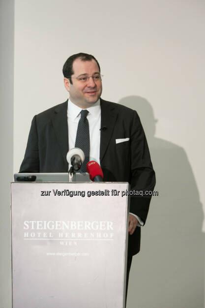 Daniel Riedl, CEO Buwog, COO Immofinanz, © Martina Draper für Immofinanz (13.02.2014)