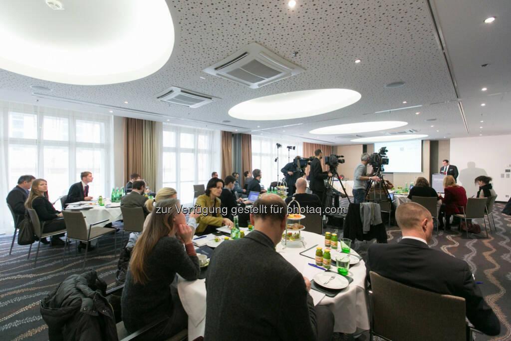 PK Immofinanz-Tochter Buwog kauft rund 18.000 Wohnungen in Deutschland - Börsennotiz der Buwog über Abspaltung geplant, © Martina Draper für Immofinanz (13.02.2014)
