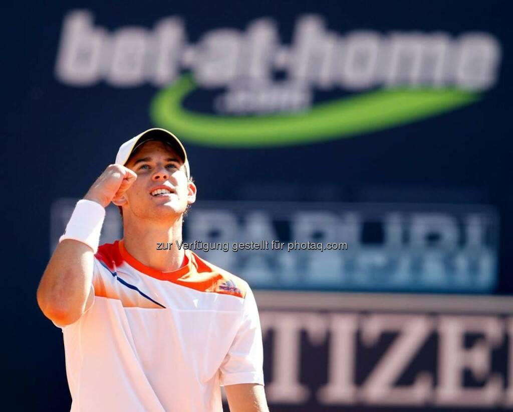 bet-at-home: Gratulation an Dominic Thiem zum Einzug in die Top 100 der Tennis-Weltrangliste (bet-at-home auf Facebook) (14.02.2014)