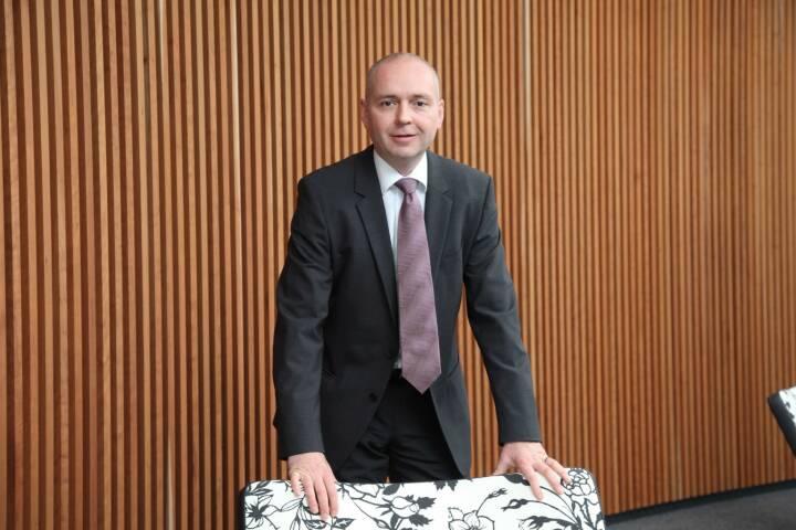 Martin Hipp, Vorstand Finanzen, Manz AG