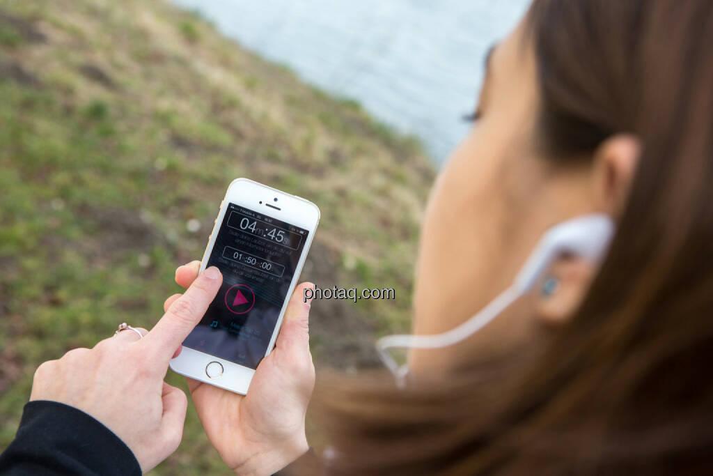 Startscreen der runplugged.com app, © finanzmarktfoto.at/Martina Draper (15.02.2014)