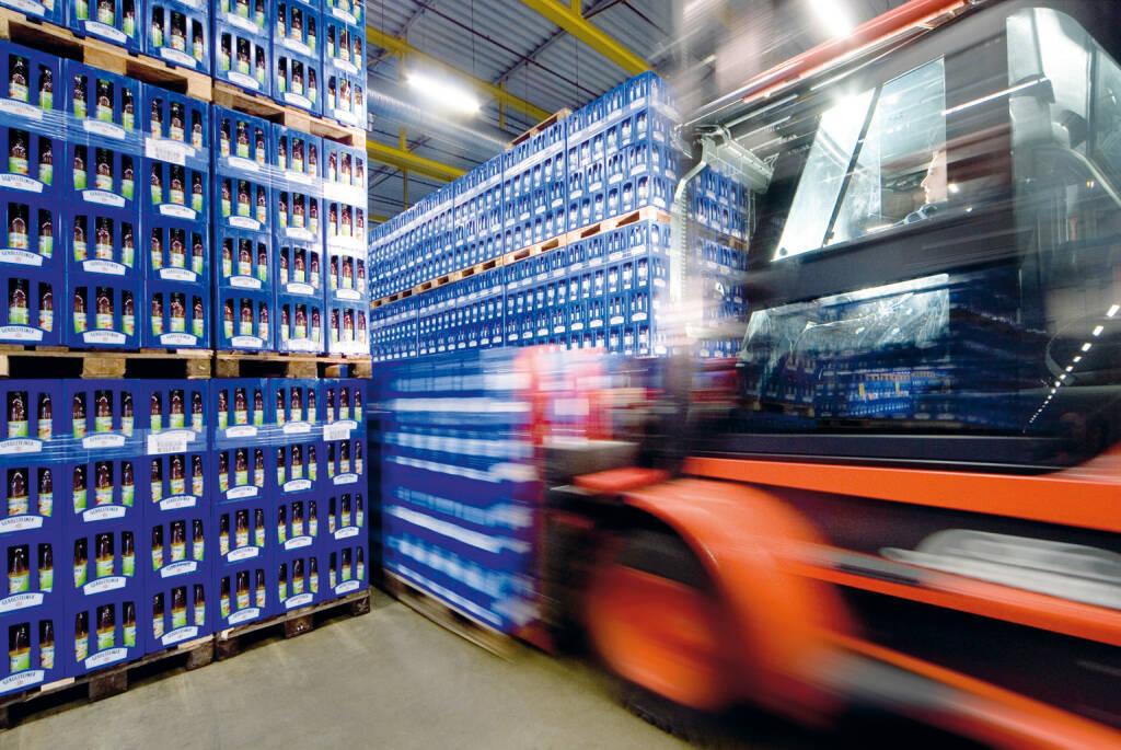 Lieferung von Getränkekisten, Metro Group, © Metro AG (Homepage) (15.02.2014)
