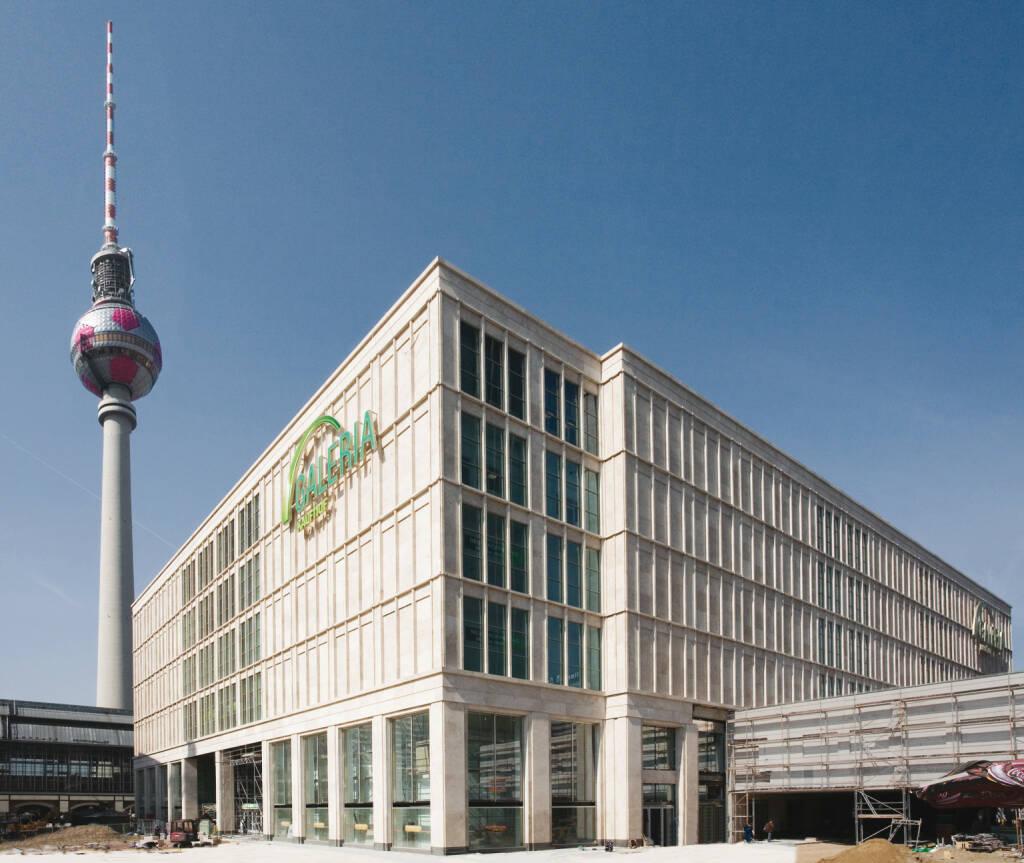 Galeria Kaufhof in Berlin am Alexanderplatz, Metro Group, © Metro AG (Homepage) (15.02.2014)