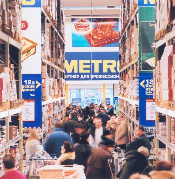 Metro Cash & Carry-Großmarkt in Russland