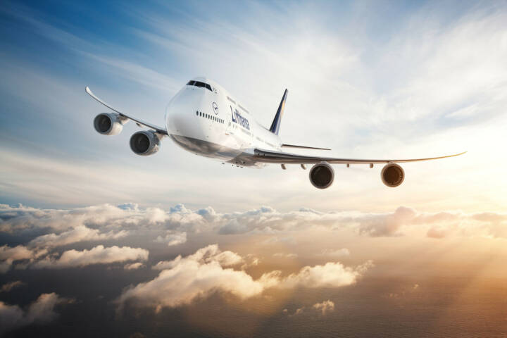 Air-to-air Motiv der Lufthansa 747-8 Intercontinental, © Photographer: Jens Görlich