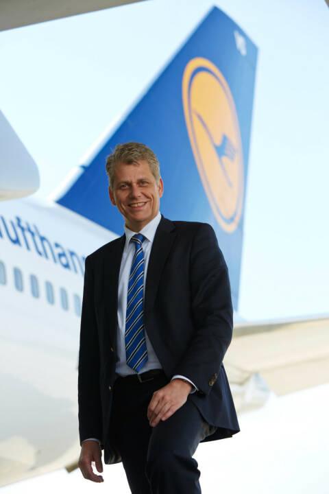 Harry Hohmeister, Vorstand Verbund-Airlines und Logistik, Lufthansa AG, (C) Gregor Schläger