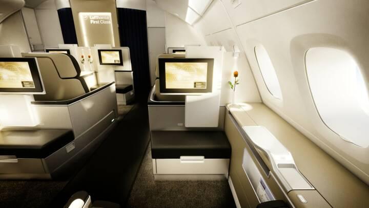 Lufthansa First Class Cabin 2010, A380