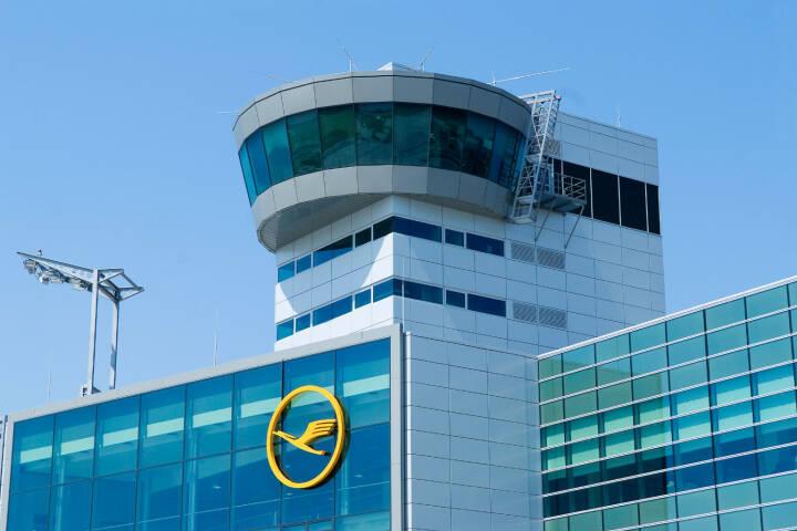 Lufthansa Terminal im C/D Riegel auf dem Frankfurter Flughafen Foto: Ingrid Friedl