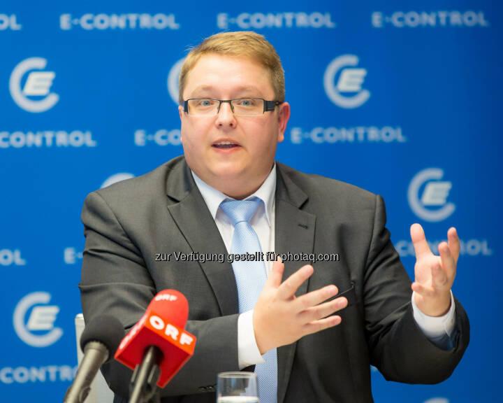 Martin Graf, Vorstand der Energie-Control Austria