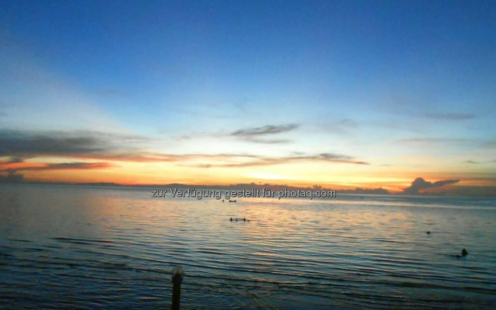 Ocean Sunset (2013) , © Dietmar Scherf (17.02.2014)