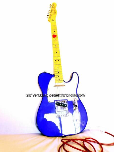Rock 'n' Roll, Gitarre (2013) , © Dietmar Scherf (17.02.2014)