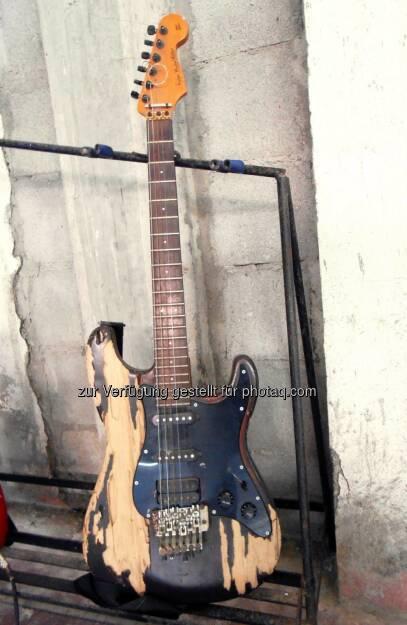 Keep on Rockin', Gitarre (2014) , © Dietmar Scherf (17.02.2014)