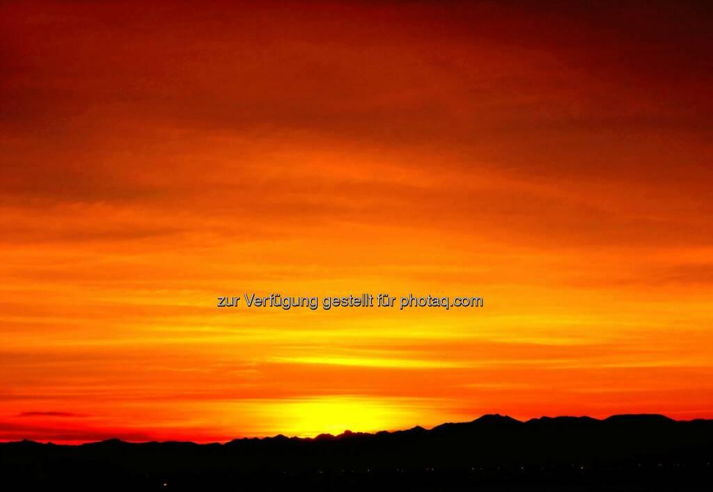 Sunrise (2014) , © Dietmar Scherf (17.02.2014)