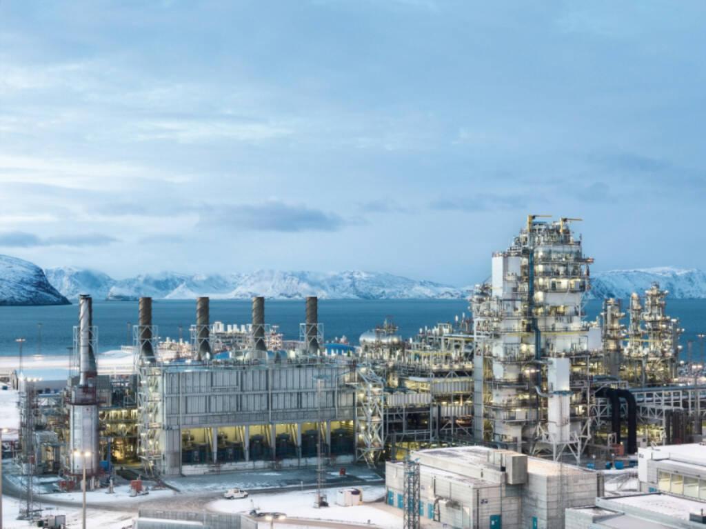 Europas größte, von Linde Engineering gebaute LNG-Anlage, Melkoya, Hammerfest, Norwegen, © Linde AG (Homepage) (18.02.2014)