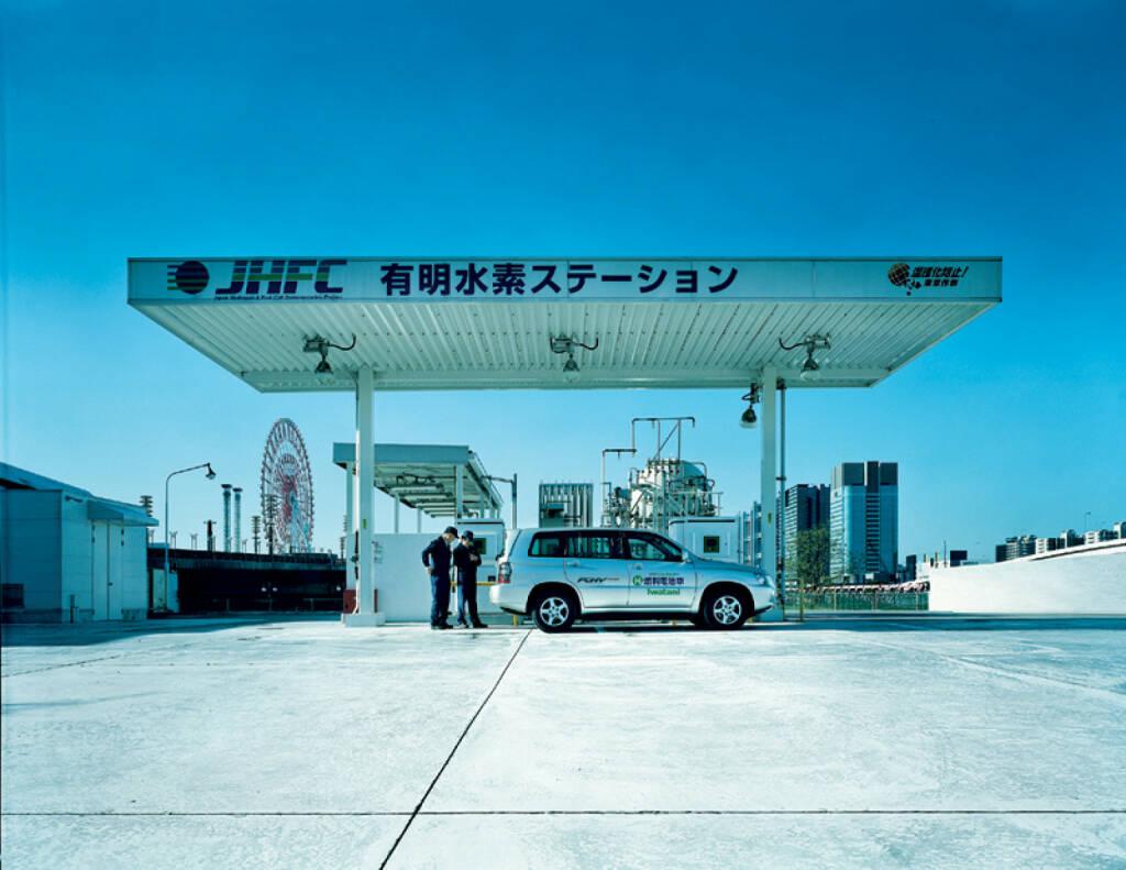 In Tokio steht Japans erste Tankstelle für Flüssigwasserstoff - mit Speicher- und Befüllungssystemen von Linde, Linde AG, © Linde AG (Homepage) (18.02.2014)