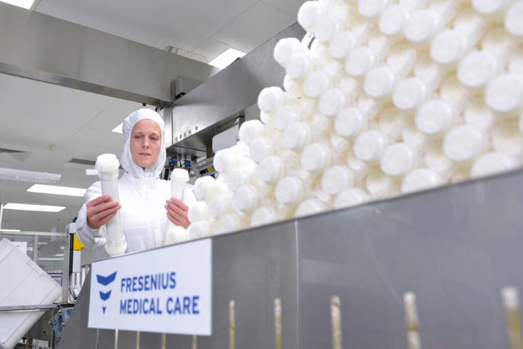 Produktion von Dialysatoren (künstlichen Nieren), Fresenius AG, © Fresenius AG (Homepage) (21.02.2014)