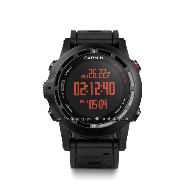 Garmin fenix 2 - Neue GPS  Sport-Outdoor-Uhr von Garmin, © Aussendung (21.02.2014)