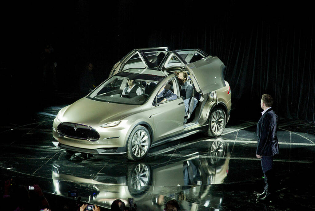 Model X World Premiere, Tesla Motors, © Tesla Motors Inc. (Homepage) (22.02.2014)