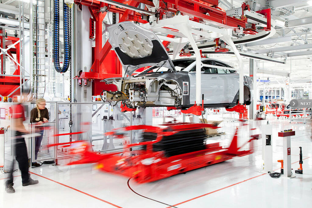 Tesla Motors, Assembly Center, © Tesla Motors Inc. (Homepage) (22.02.2014)