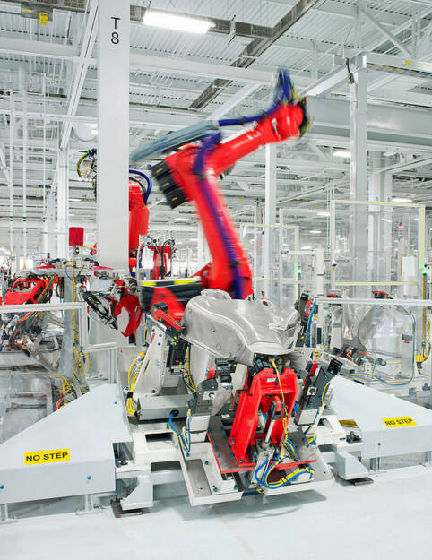 Tesla Motors, Body Center, © Tesla Motors Inc. (Homepage) (22.02.2014)