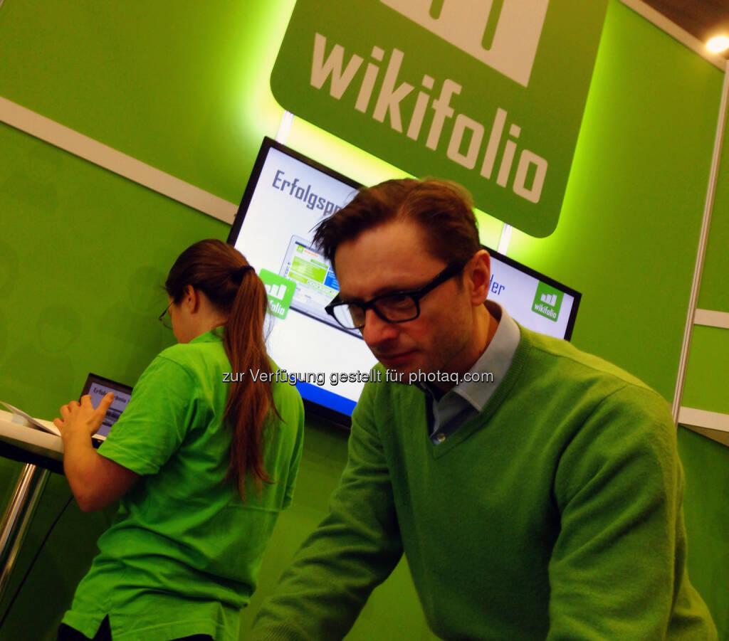 Andreas Kern, wikifolio.com, © wikifolio (24.02.2014)