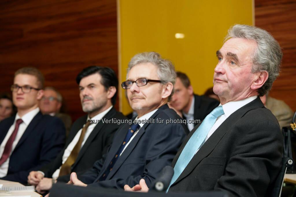 Matthias Lahninger, Hubert Neuper, Helmut Berg, Peter Püspök, © IVA (24.02.2014)