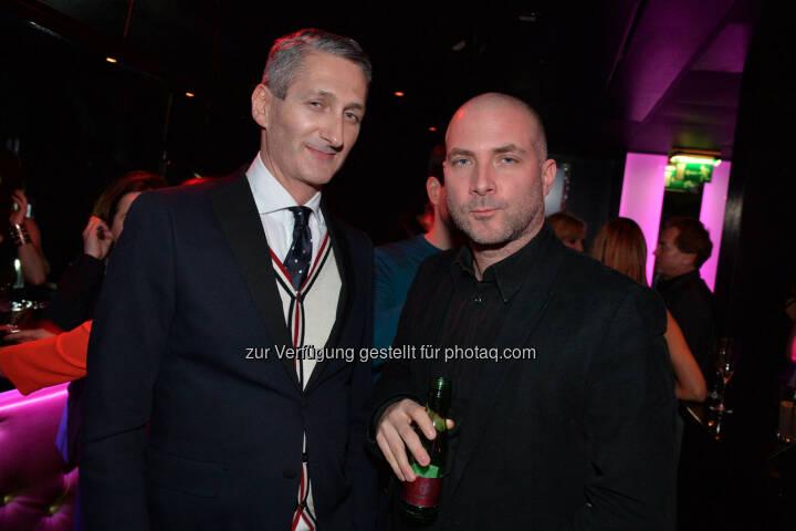 Modedesigner Hermann Fankhauser, Fotokünstler Michael Dürr