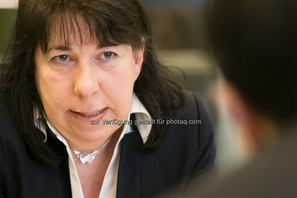 Doris Ritzberger-Grünwald (OeNB), © Martina Draper für den BE (27.02.2014)