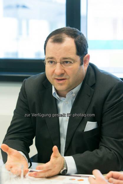 Daniel Riedl (Buwog), © Martina Draper für den BE (27.02.2014)