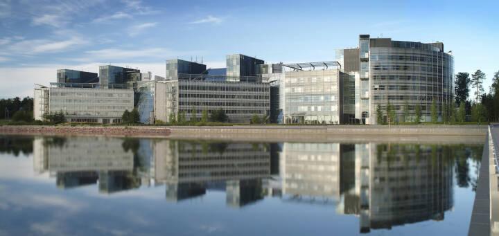 Nokia Head Office in Espoo, Finland