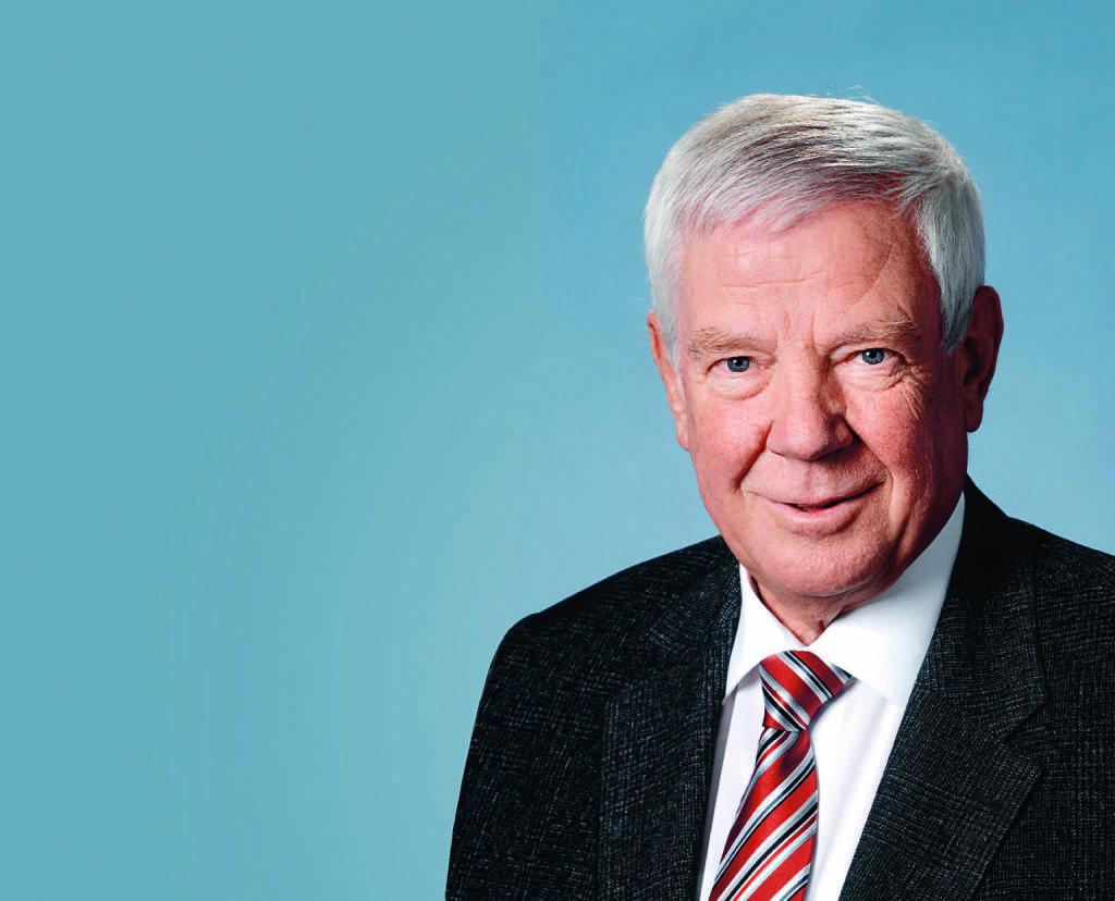 Gerhard Schick, Aufsichtsratsvorsitzender Bechtle AG , © Bechtle AG (Homepage) (01.03.2014)