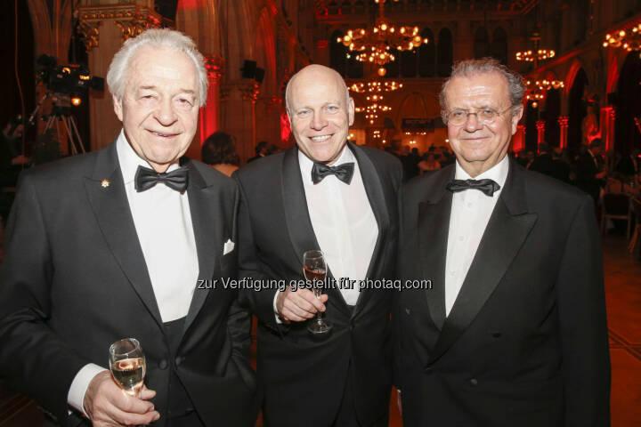 Harald Serafin, Ralph Vallon, Hans Peter Spak (Hink Pasteten)
