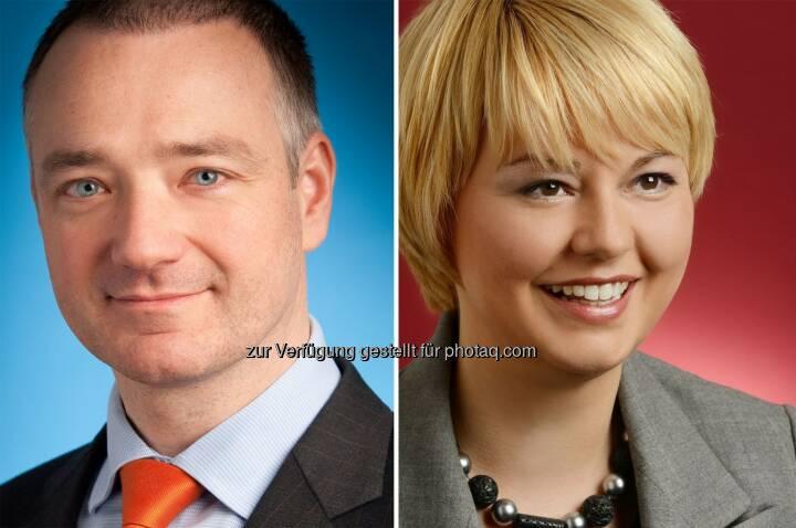Erik Steger und Laura T. Struc (Wolf Theiss) haben Pramerica Real Estate Investors (Luxembourg) S.A. beim Verkauf von Einkaufszentren in Celje, Velenje, Postojna und Domžale beraten. (Bild: Wolf Theiss)