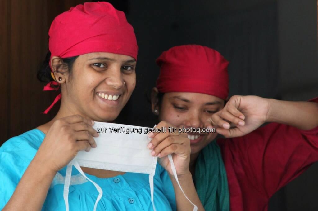 Bangladesh, Mundschutz, &copy; <a href=