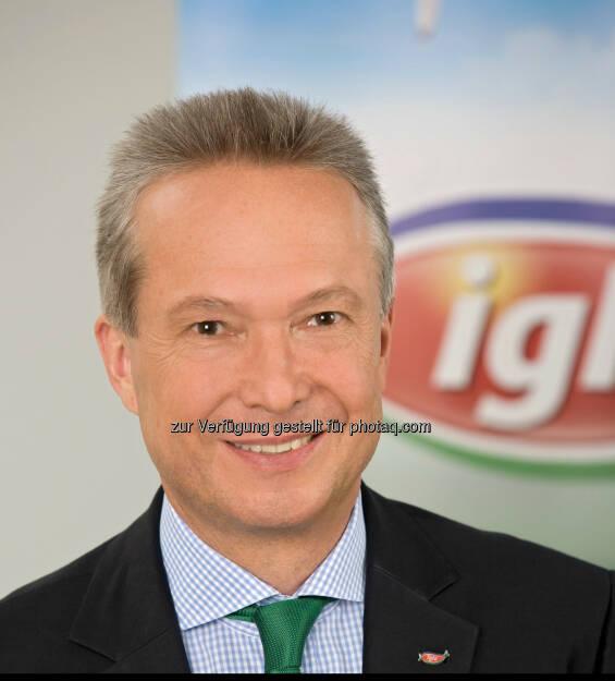 Rainer Herrmann, Geschäftsführer; Iglo Austria GmbH: Rezepte fürs Leben neu in TV, Print und Web: Iglo Österreich launcht neue Kampagne - zu sehen ab März 2014 (04.03.2014)