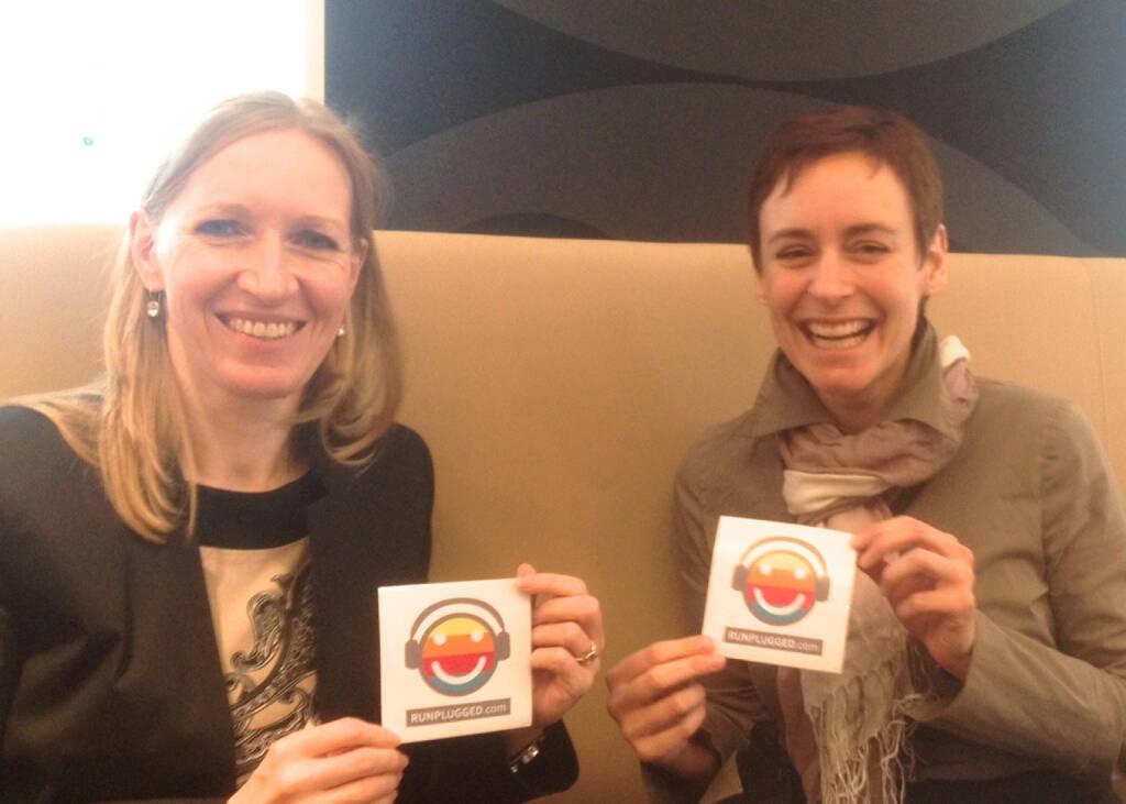 Mit Christine Helmel und Andrea Hansal, ING-DiBa, u.a. im Runplugged-Zusammenhang gebrainstormt http://www.runplugged.com (04.03.2014)