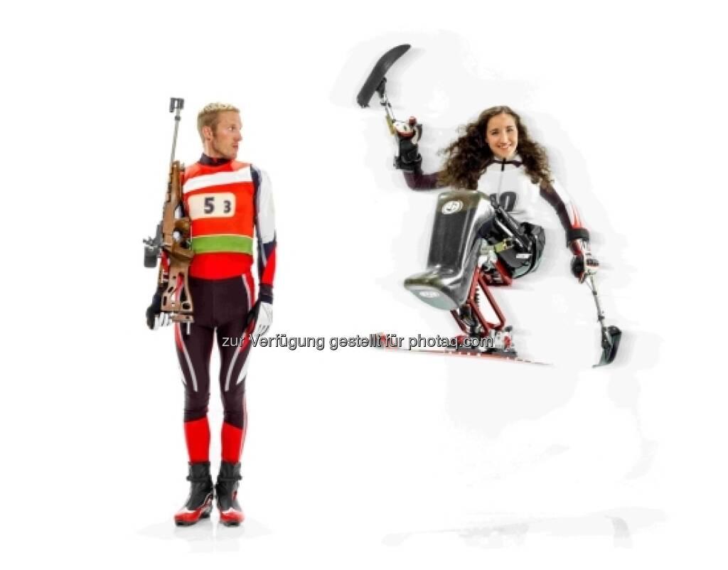DEZEMBER: Claudia Lösch und Dominik Landertinger, © Sporthilfe (15.12.2012)