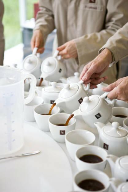 Nespresso Verkostung, Nestlé, © Nestlé (Homepage) (04.03.2014)