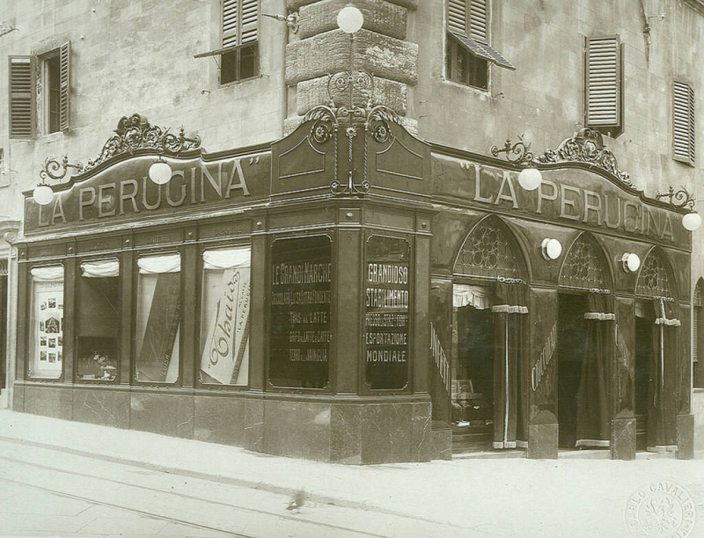 Hometown shop: Perugia in the 1920s, Nestlé, © Nestlé (Homepage) (04.03.2014)