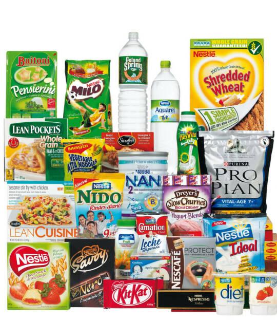 Nestlé Produkte, © Nestlé (Homepage) (04.03.2014)