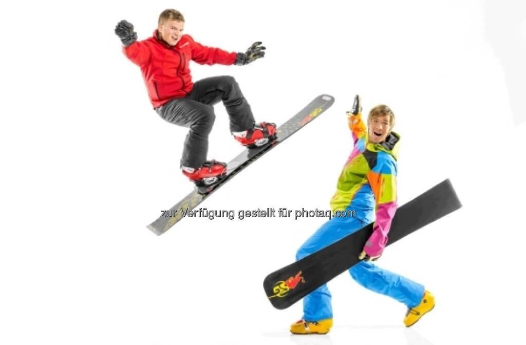 Februar: Raphael Petr und Benjamin Karl, © Sporthilfe (15.12.2012)